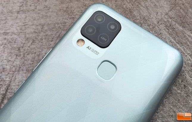 Infinix Hot 10S NFC Camera Array