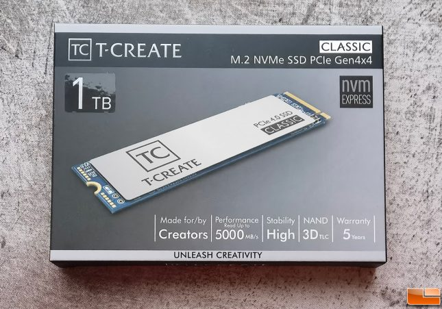 TEAMGROUP T-CREATE CLASSIC Gen4 1TB SSD