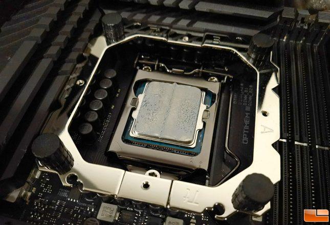 Thermaltake Toughair 510 CPU Cooler Contact Pressure Thermal Paste