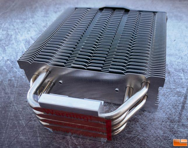 Thermaltake Toughair 510 CPU Cooler Fins