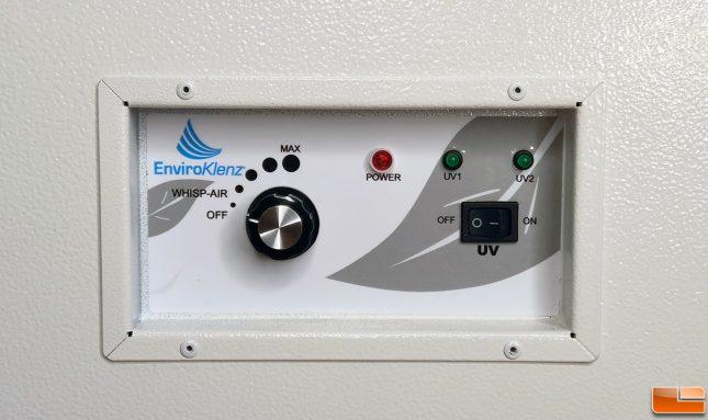 EnviroKlenz Air System Plus Controls