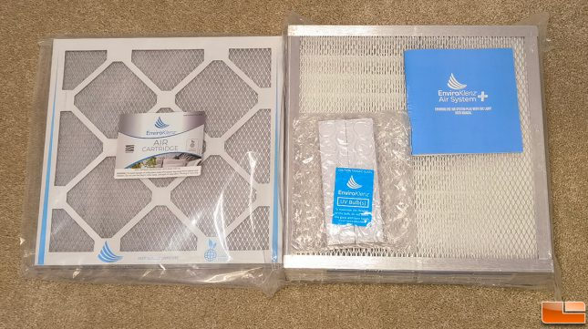 EnviroKlenz Air System Plus Filters and UV Light
