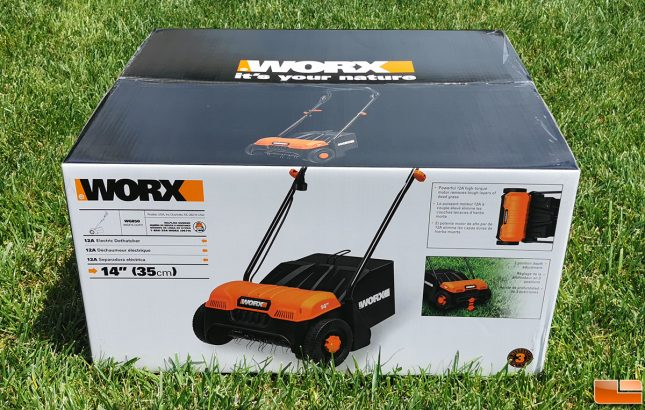 WORX WG850 Electric Dethatcher
