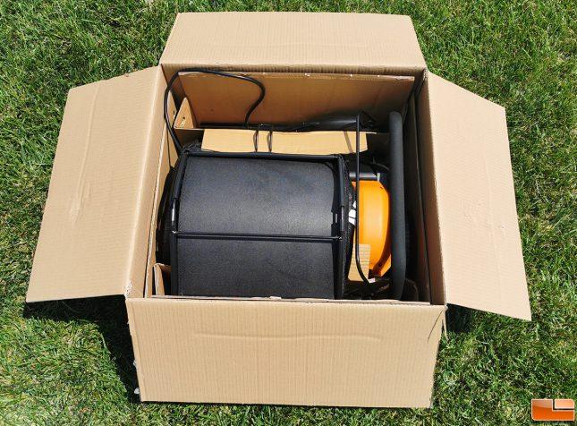 WORX WG850 Electric Dethatcher Retail Packaging
