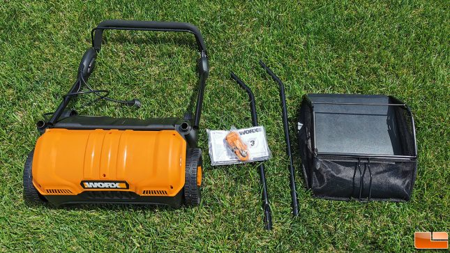 WORX WG850 Electric Dethatcher Accessories