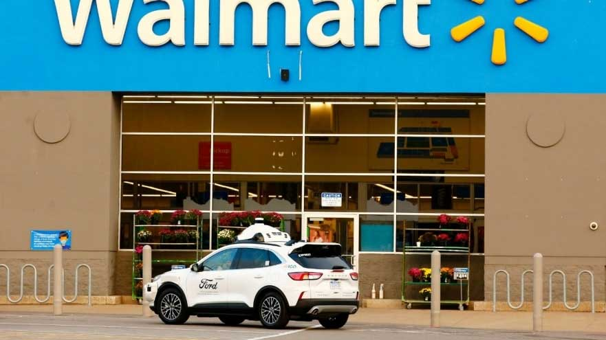 Ford, Walmart, And Argo AI Team For Autonomous Deliveries